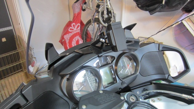 Installed Wunderlich GPS Mount