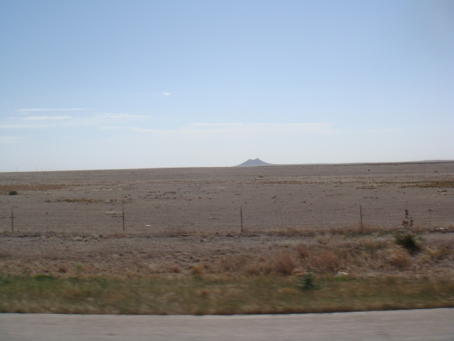 Not sure what this hill was in the middle of nowhere