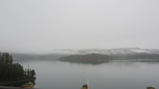 Lake on 385